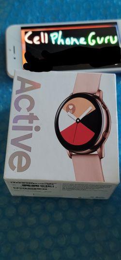 Samsung Galaxy watch active BRAND NEW SEALED for Sale in Phoenix,  AZ