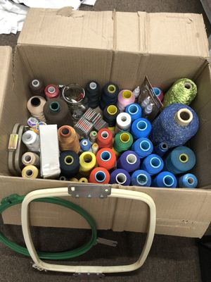 50 rolls of embroidery threads for Sale in Fort Washington, MD