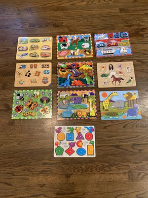 10 Wood Puzzles for $10 for Sale in North Bend, WA
