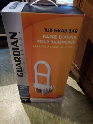 Grab bar NEW NEVER OPENED METAL NOT PLASTIC VERY STURDY for Sale in Little Rock, AR