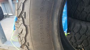 4 tires LT275-60 r20 for Sale in Miles, TX