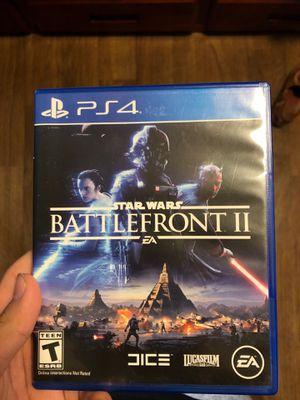 PS4 Starwars Battlefront 2 for Sale in Wenatchee, WA
