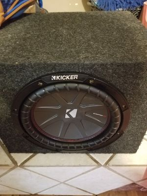 10 inch Kicker compR for Sale in Las Vegas, NV