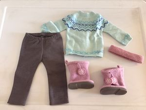 American Girl Doll Blue Frosty Isle Outfit for Sale in Las Vegas, NV
