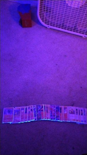 Pokemon cards in Mint condition in plastic case for Sale in Gresham, OR