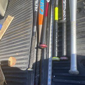 Misc Baseball Bats for Sale in San Bernardino, CA