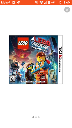 New Lego movie Nintendo 3DS game for Sale in Houston, TX