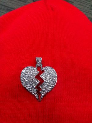 Sterling silver Heart pendant $25 for Sale in San Diego, CA