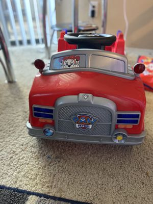 Paw patrol 6v car for Sale in Irving, TX