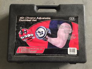 $35 - G3 Strength 40# Dumbell Set for Sale in Pacifica, CA
