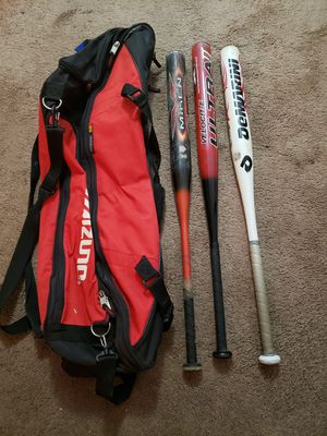 Softball bats and bag for Sale in Auburn, WA