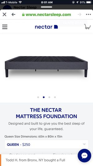Brand new bed frame still in box for Sale in Nashville, TN