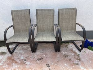 Sillas de Patio / Patio Chairs for Sale in Miami, FL