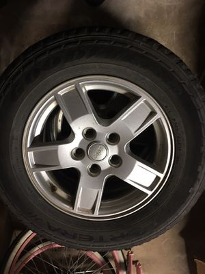 """17"""" jeep set of wheels for Sale in Fort Worth, TX"""