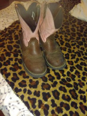 Justin gypsy cowgirl boots size 9 for Sale in Arlington, TX