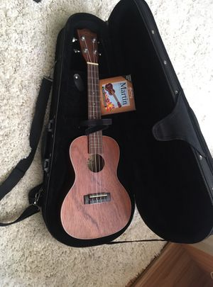 Lanikai Ukulele, case, and strings for Sale in San Francisco, CA