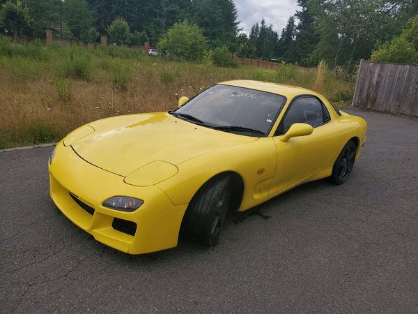 1993 Mazda Rx7 Type R Rhd