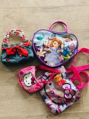 Four super cute girls purses/handbag for Sale in Fort Worth, TX