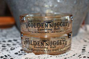 Golden Nugget Vintage Ashtrays-set of 2 for Sale in Mesa, AZ