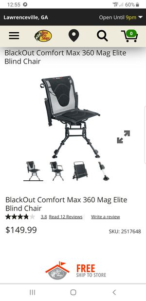 Brand new blackout blind chair for Sale in Rockledge, FL