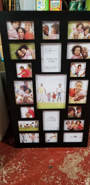 Large collage picture frame for Sale in Akron, OH