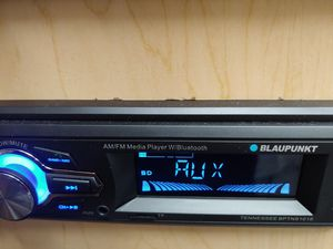 Car stereo : Blaupunkt am /FM Bluetooth media receiver aux usb port sd card slot remote control ( no cd player ) for Sale in Huntington Park, CA