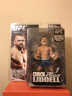 """UFC Legends Ultimate Collectors Series 1 Chuck """"The Iceman"""" Liddell 2009 Figure Sealed In Plastic New for Sale in Reedley, CA"""