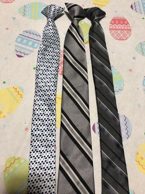 Lot of 3 Boys Clip on Ties for Sale in Chicago, IL