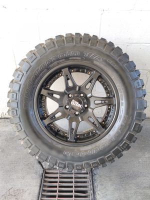 Spare rim with bfgoodrich tire for Sale in Las Vegas, NV