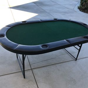 Folding Poker Table for Sale in Los Angeles, CA