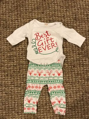 6 mo Christmas Outfit for Sale in Clarksburg, MD