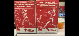 Pat Burrell and Jim thome bobble heads for Sale in Selinsgrove, PA