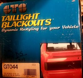 Black Out For Taillights for Sale in Orem,  UT