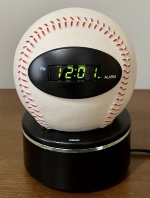 Baseball Table Alarm Clock for Sale in Chapel Hill, NC