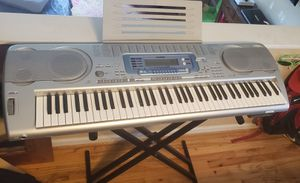 Casio Music Site keyboard with Internet Data Expansion System for Sale in Milwaukie, OR