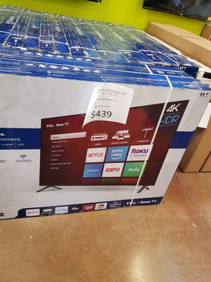 """TCL 65"""" 4K UHD Roku TV for Sale in Lytle Creek, CA"""