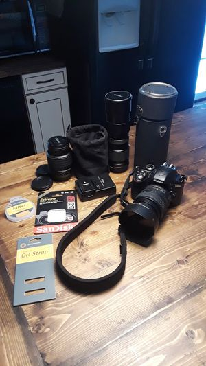 Nikon D3300 Photography kit for Sale in Grove City, OH