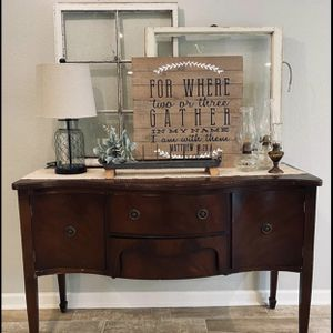 Antique Buffet Table for Sale in Dickinson, TX