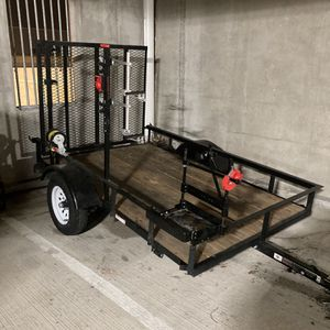 5x8 Utility Trailer | Great Condition for Sale in Richardson, TX