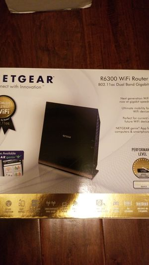 Netgear R6300 WiFi Router for Sale in Spring Valley, CA
