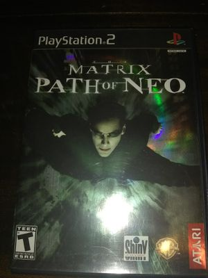 The Matrix Path of Neo PS2 for Sale in Queens, NY