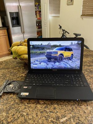 """Will not answer to any other offer!!! Toshiba 15.6"""" Laptop windows 10 Webcam 4gb of memory &&& for Sale in Hialeah, FL"""