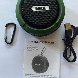 NRA Portable Wireless Speaker for Sale in Algonquin, IL