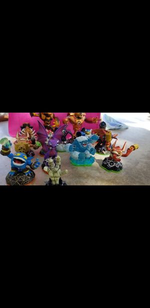 Skylanders Activision Lot Figurine Toys for Sale in Riverside, CA