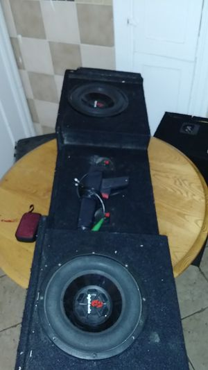 Subwoofer truck box for Sale in San Francisco, CA
