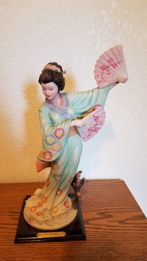"""""""Dancing Geisha """" Collector's Statue From The La Verona Collection for Sale in Lacey, WA"""