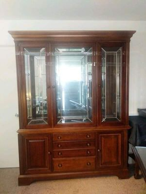Dish /china cabinet / buffet and hutch for Sale in Houston, TX