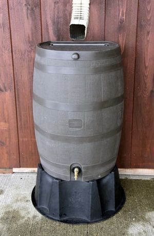 50 Gal. Rain Barrel with Brass Spigot - brand new still in the box for Sale in Dallas, TX