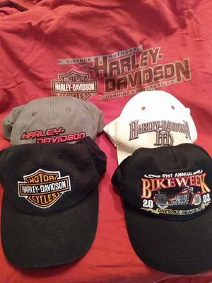 Harley Davidson hats & T-shirt for Sale in Dallas, GA