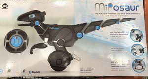 Brand new in box Miposaur WowWee robot dinosaur smart device smart toy for Sale in Rockville, MD